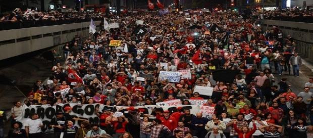 Avenida Paulista foi palco de grande protesto contra Michel Temer - Foto: Reprodução / EBC