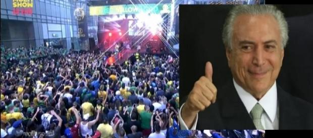 Globo boicota manifestações contra Temer