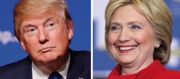 Hillary Clinton e Donald Trump