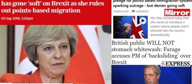Theresa May promet de contrer l'émigration avec un système plus fort que le PBS. Oui mais lequel ?