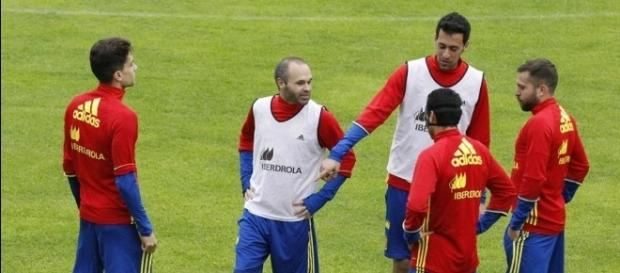 Último entrenamiento de la Selección Española en Schruns - mundodeportivo.com