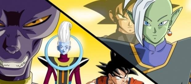Zamasu vs Goku (ft. Beerus, Whis, Goku Black) Speed Drawing - YouTube - youtube.com