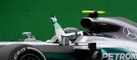 Nico Roberg, vencedor do GP da Itália no último domingo (Foto: Gabriel Bouys/AFP)