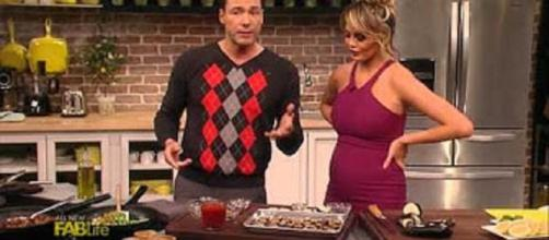 Celebrity chef Rocco DiSpirito weight loss proves negative calorie diet. Source: YouTube still