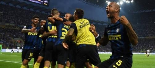 La gioia dell'Inter (fonte foto: FC Internazionale Milano Facebook Official Account)