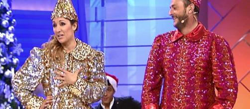 Lo nunca visto en 'MyH': Nagore y Nacho se visten de bolas de Navidad - telecinco.es
