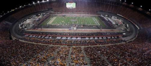 Record crowd of 156,990 watches Vols beat Virginia Tech 45-24 - Photo compliments of - ourmidland.com