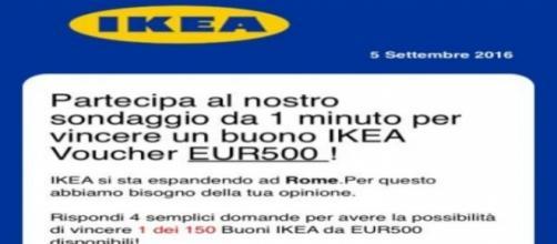 """Whatsapp, attenzione alla truffa """"BUONO IKEA"""","""