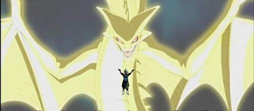 Zamasu invocando a super Sheng long