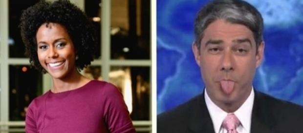 As conversas entre Maju e Bonner já não acontecem mais no Jornal Nacional
