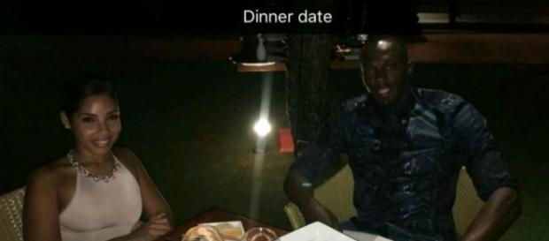 Bolt pediu a sua parceira em casamento