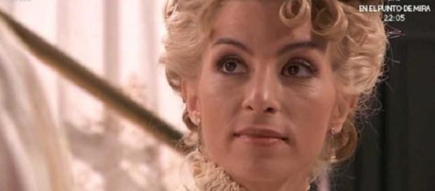 Cayetana, soap opera Una Vita Canale 5