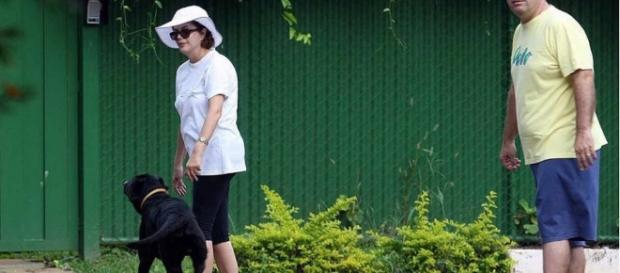 Dilma abandonará seu cão em Brasília