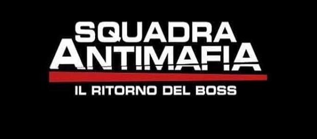 Il logo ufficiale di Squadra Antimafia 8
