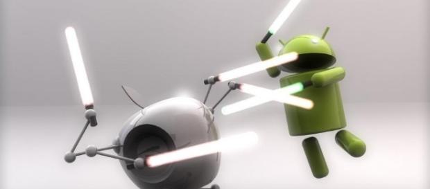 iOS 7 vs. Android 4.4 KitKat: Clash of Titans!   Know Your Mobile - knowyourmobile.com