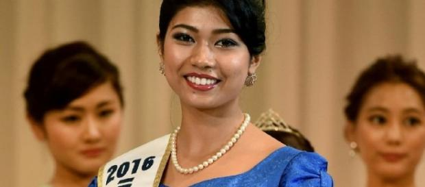Japanese-Indian Priyanka Yoshikawa Miss Japan 2016