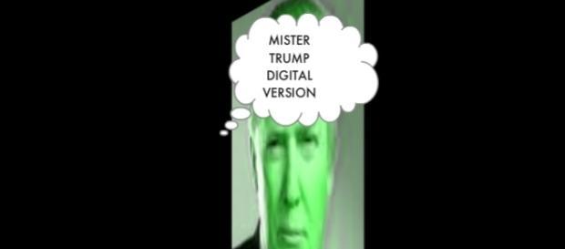 Mr. Trump in versione digitale