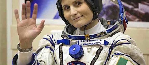 Samantha Cristoforetti è incinta