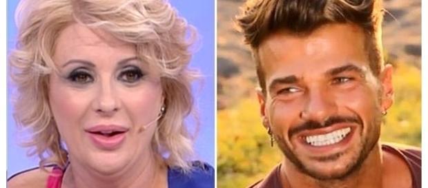 Uomini e Donne: Tina Cipollari difende Claudio Sona
