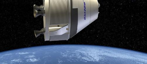 Boeing CST-100 Starliner in orbit