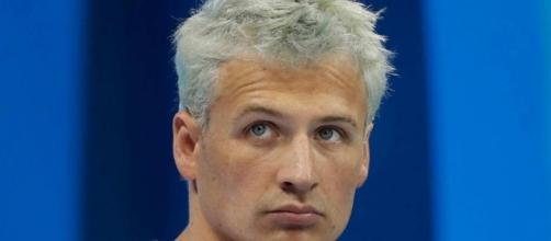 Ryan Lochte won't be able to swim competitively for the next ten months. Photo c/o wfla.com.