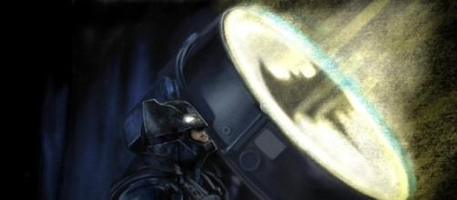 Batman espera la llegada de Superman en Batman vs Superman