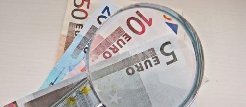 Billets de 50, 20, 10 et 5 euros