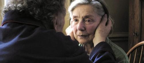 Filme Amor (Amour) que mostra o amor na terceira idade (crédito: Google)