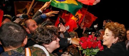 População despede-se de Dilma Rousseff em Brasília.