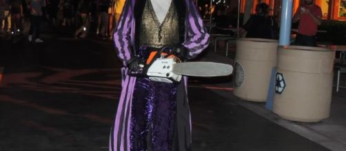 The streets are full of terror at Halloween Horror Nights. (Photo by Barb Nefer)