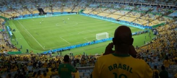 Após inédito ouro olímpico, Seleção Brasileira pode atuar no Maracanã pelas eliminatórias (Foto: Murad Sezer/REUTERS)