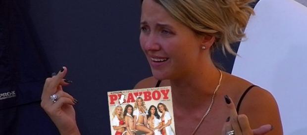 Cathy Lugner wird wegen ihrem Playboy-Shooting angegriffen