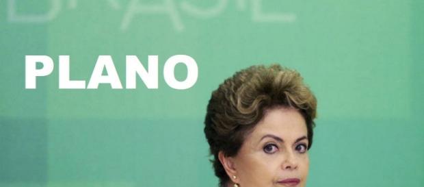 Dilma está a testar sua popularidade