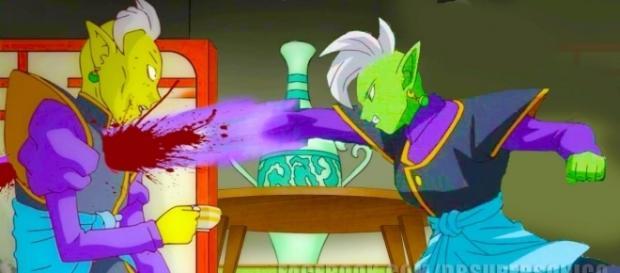 Dragon Ball Super: títulos y Resúmenes oficiales de los Capítulo 58, 59, 60 y 61 en Español - Gowasu muere a manos de Zamasu