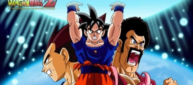 Dragon ball z Kai (Goku, Vegeta, Mr Satan y Majin Boo)