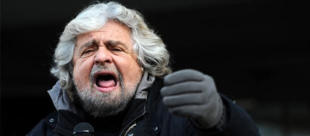 Il leader del Movimento5Stelle, Beppe Grillo