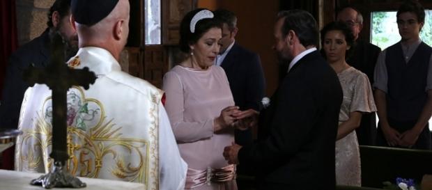 Il Segreto, anticipazioni puntata 1131: Francisca e Raimundo diventano marito e moglie