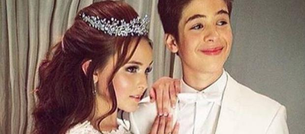 João Guilherme fala sobre seu namoro com Larissa Manoela - TKM Brasil - mundotkm.com