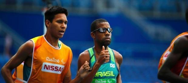 Odair Santos ganha a primeira medalha nas paraolimpíadas