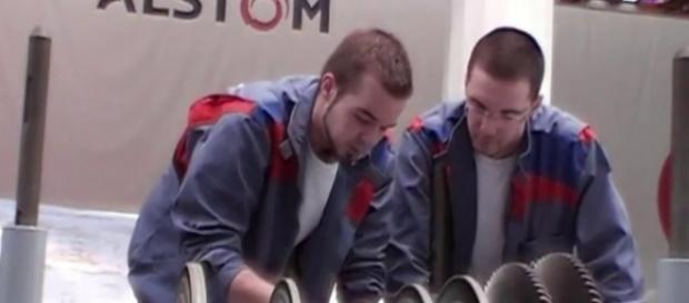 Salariés de Alstom en formation