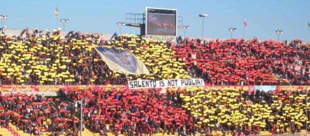 Tanto entusiasmo nel Salento per i risultati del Lecce.