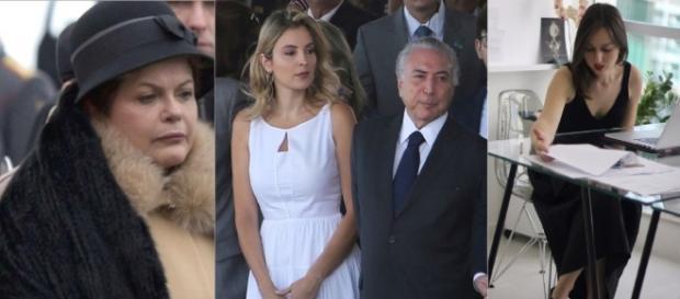 Vestido usado pela primeira-dama causa polêmica