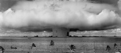 """Baker Shot"", part of Operation Crossroads, a nuclear test by the United States 1946 / Photo by US Army, via CC Wikipedia"