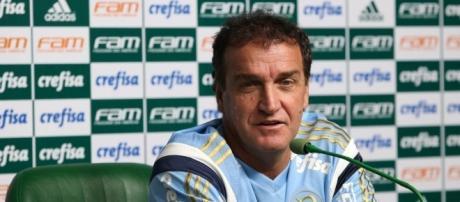 Cuca, técnico da equipe do Palmeiras .