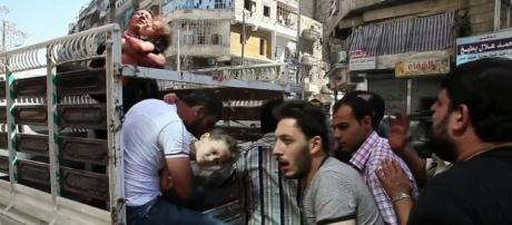 Syrian government forces accused of chemical attacks in Aleppo. Photo c/o Wikimedia Commons.