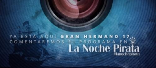 """""""LA NOCHE PIRATA"""". LOS LUNES DE 20 A 22h EN 10 RADIO"""