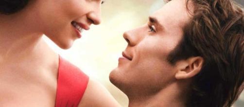 """Locandina di """"Io Prima di te"""" con Emilia Clarke e Sam Claflin come protagonisti"""