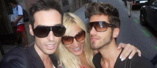 Miguel, Christina Rapado y Markus