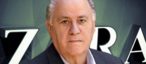 Uomo più ricco del mondo è Amancio Ortega, patron di Zara