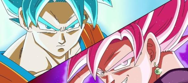 Goku and Black, the main characters of the next episodes (YouTube)